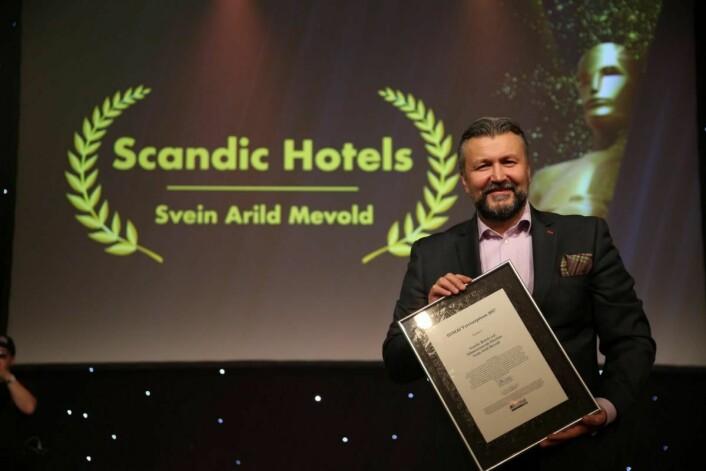 Årets veiviser: Svein Arild Steen-Mevold. (Foto: Camilla Bergan/HSMAI)
