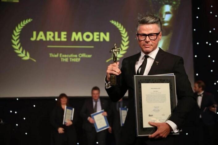 Jarle Moen, hotelldirektør på The Thief, er kåret til Årets hotelier 2017. (Foto: Camilla Bergan/HSMAI)
