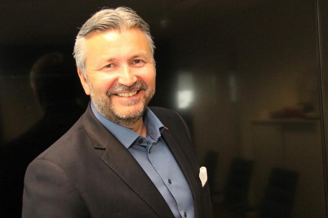 Scandic-sjef i Norge, Svein Arild Steen-Mevold, ble kåret til årets toppleder i 2017 av Grand Travel Awards. (Foto: Morten Holt)