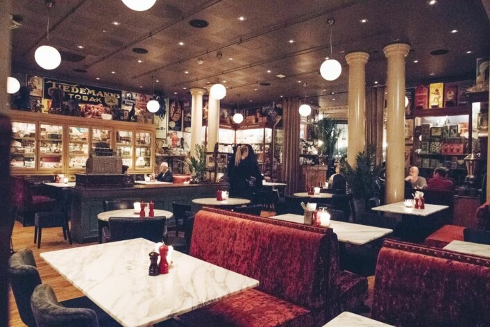 Café Christiania. (Foto: Mat & Drikke-Gruppen)