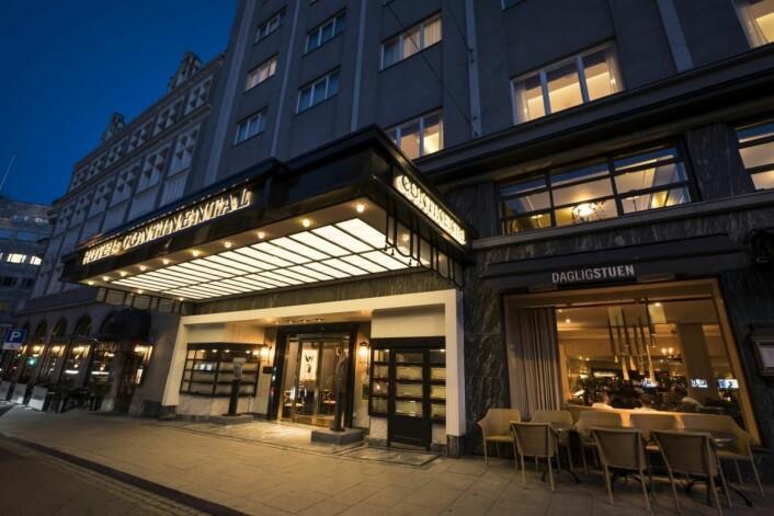 Hotel Continental er nummer tre. (Foto: Hotel Continental)