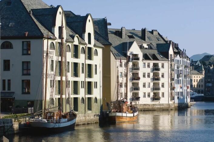 Hotel Brosundet. (Foto: De Historiske)