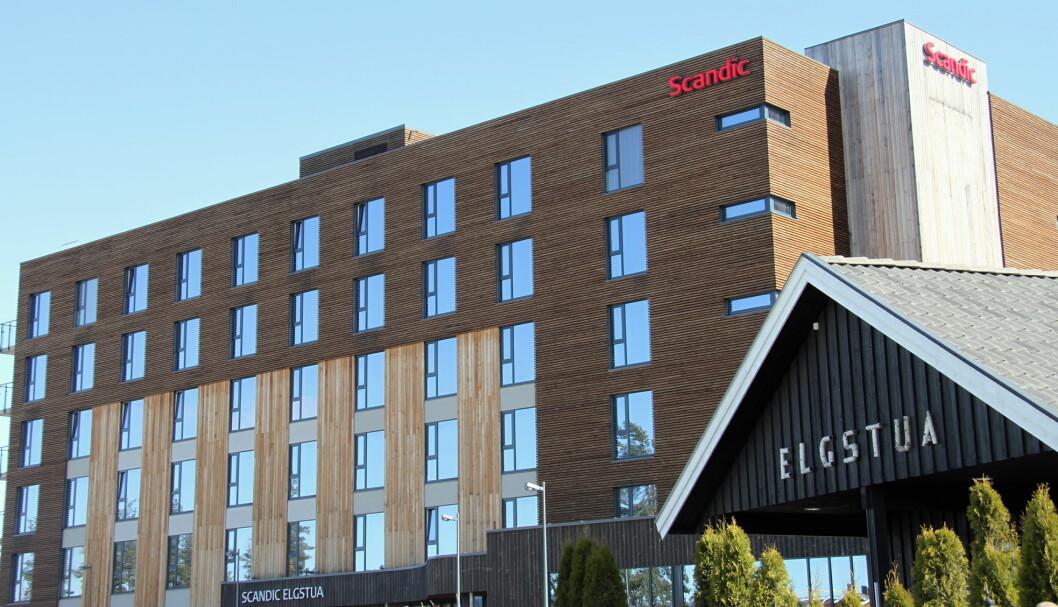 "Scandic Elgstua er hedret med prisen ""Scandics reneste hotell"". (Foto: Morten Holt)"