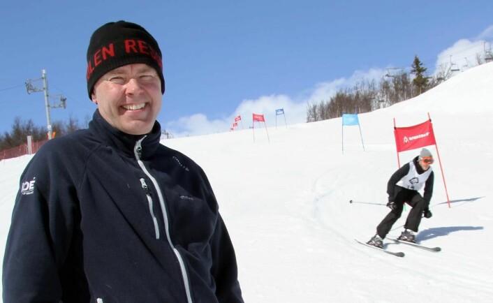 Full fart i alpinanlegget på Beitostølen. (Foto: Morten Holt)