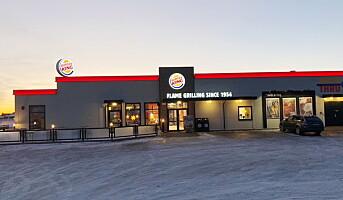 Burger King inntar landeveien