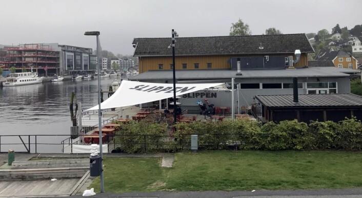 Restaurant Slippen i Fredrikstad var den eneste restauranten utenfor Oslo som fikk pris av Bookatable by Michelin i kveld. (Foto: Morten Holt)