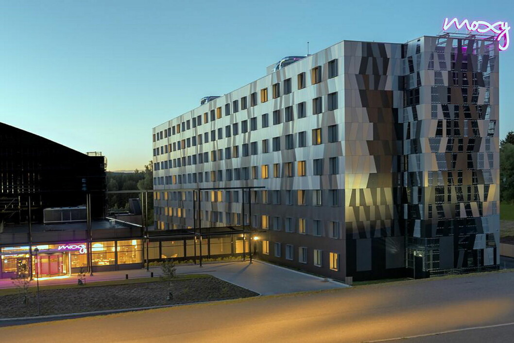 Moxy er Norges første Marriott-hotell. (Foto: X Meeting Point Norway/Moxy)