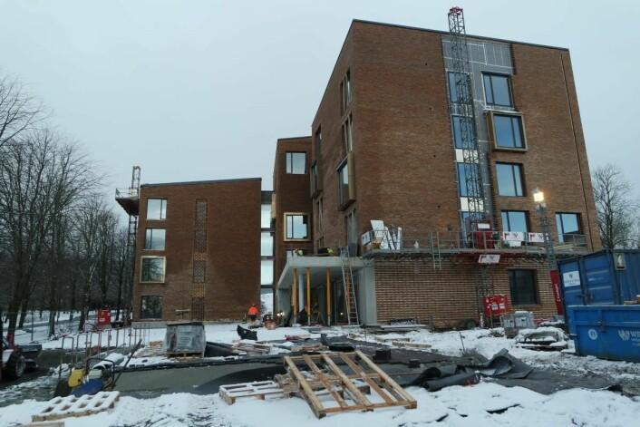 Ydalir Hotel nærmer seg ferdigstillelse. (Foto: Ydalir Hotel)