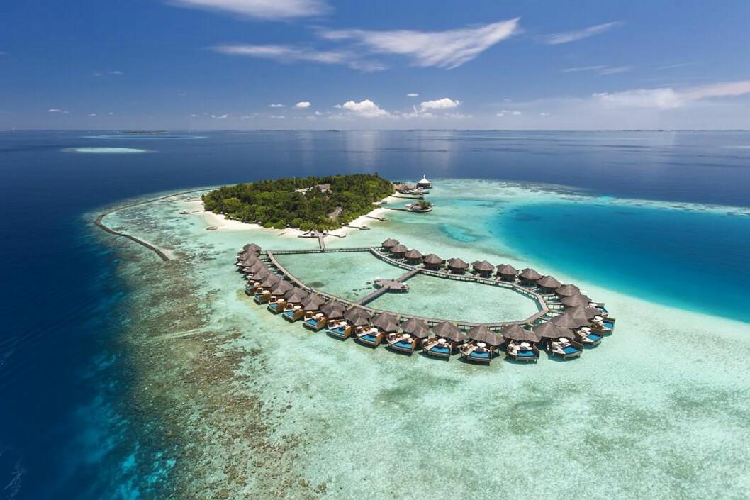 Baros på Maldivene er kåret til verdens beste luksushotell av TripAdvisor. (Foto: TripAdvisor)