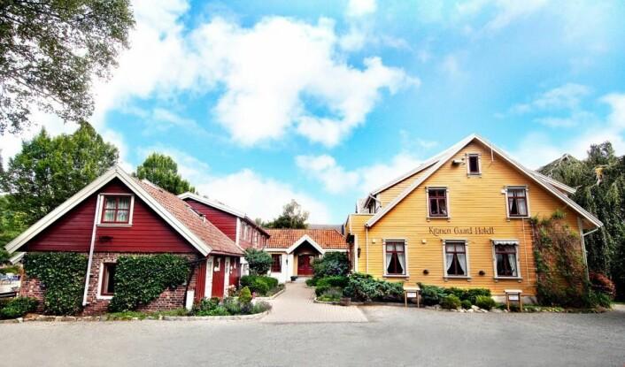 Her, på Kronen Gaard Hotel utenfor Sandnes, skal Team Bocuse Norge trene mot de to Bocuse d'Or-konkurransene. (Foto: De HIstoriske Hotel & Spisesteder)