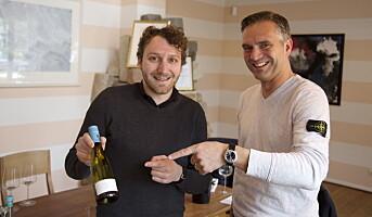 Sommelier-vinner med egen vin