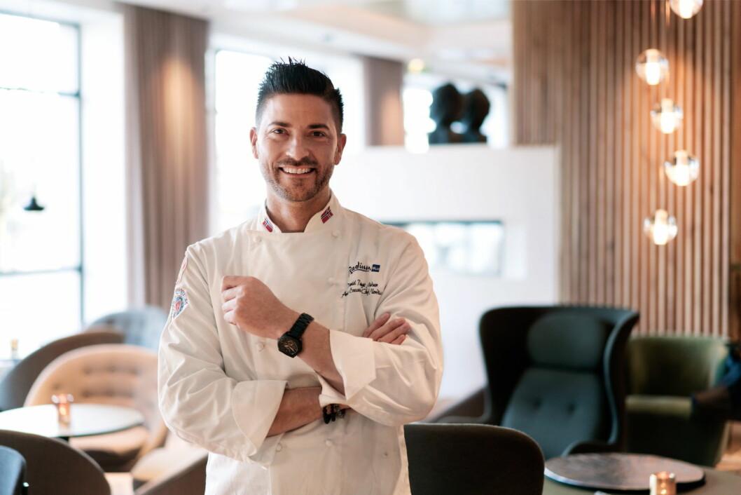 Daniél Rougè Madsen utfordrer matscenen i Stavanger med nytt konsept med restauranten FireLake. (Foto: Rezidor Hotel Group)