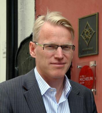 Nils Henrik Geitle. (Foto: Morten Holt)