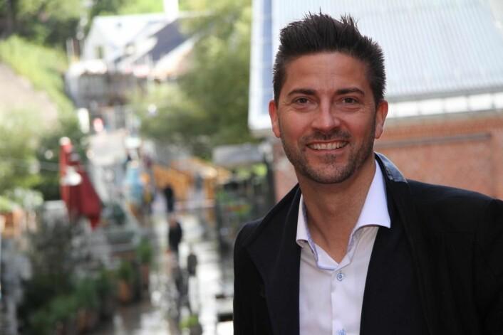 Daniél Rougè Madsen skal lede den nye restauranten på nyrenoverte Radisson Blu Atlantic Hotel i Stavanger. (Foto: Morten Holt)