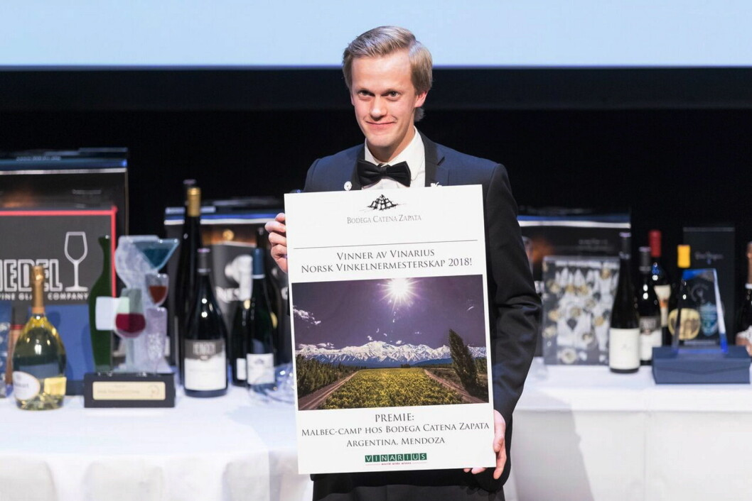 Henrik Dahl Jahnsen vant NM for vinkelnere. (Foto: Sune Eriksen)