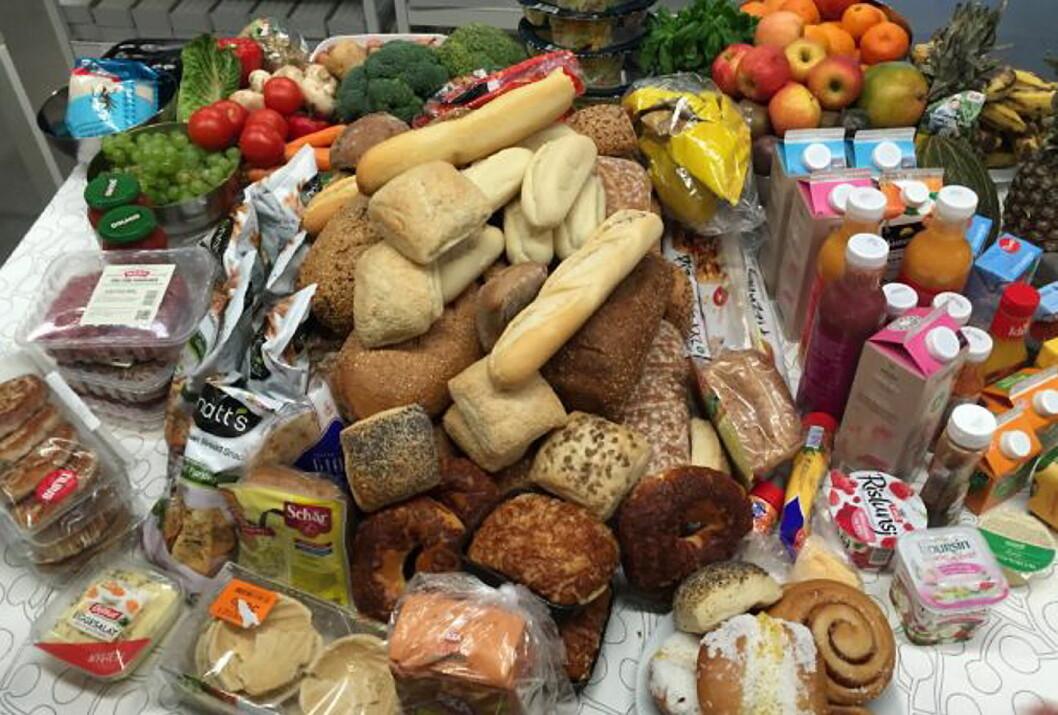 Vi kaster 42 kg mat hver i året som burde vært spist. (Foto: Matvett.no)