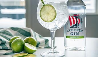 Lanserer økologisk gin