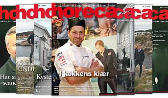 Årets første magasin i Horecas 50. årgang