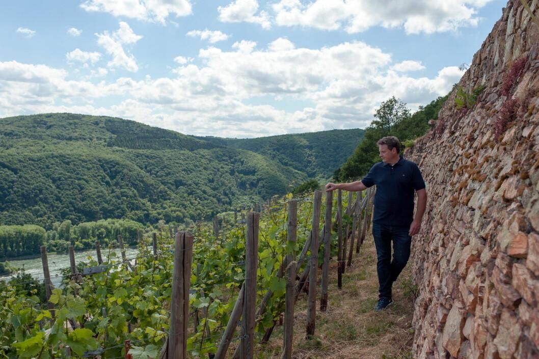 Moestue Grape Selections overtar som importør for Weingut Leitz, med Johannes Leitz (bildet) i spissen. (Foto;: Moestue)