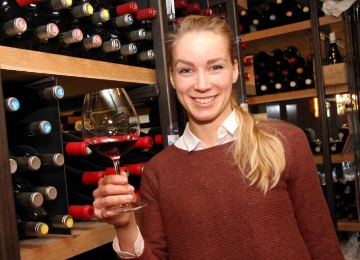 Anniken England er Horecas nye vinskribent. (Foto: Morten Holt)