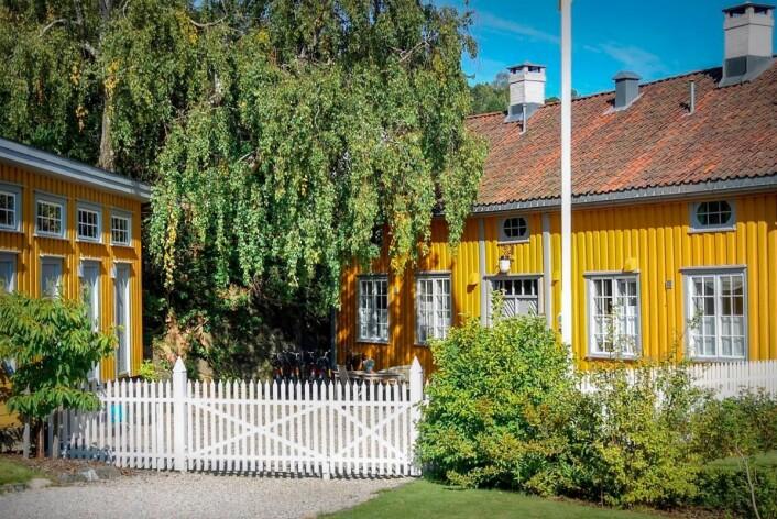 Det Lille Hotel i Risør. (Foto: De Historiske)