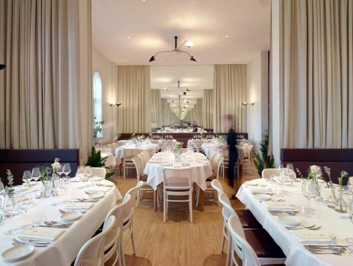 Bare Restaurant & Bar i Bergen. (Foto: De Historiske)