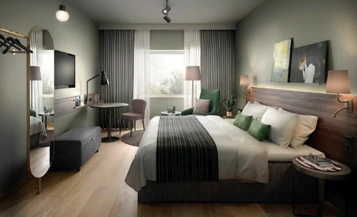 157 rom på Scandic Hell skal renoveres. (Foto: Scandic Hotels)