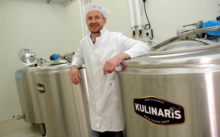 Roar Langli hos Kulinaris forteller at det skal satses enda mer på storkjøkkenmarkedet. (Foto: Morten Holt)