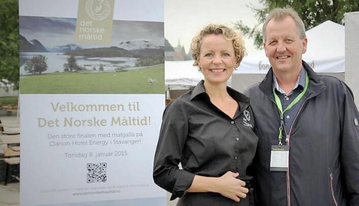 Kristin Austigard og Sigve Skretting. (Arkivfoto: Det Norske Måtid)