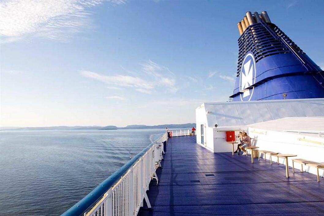 Illustrasjonsfoto: DFDS