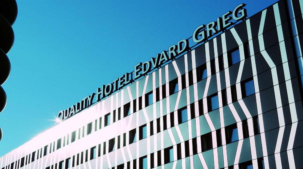 Quality Hotel Edvard Grieg. (Foto: Hotellet)