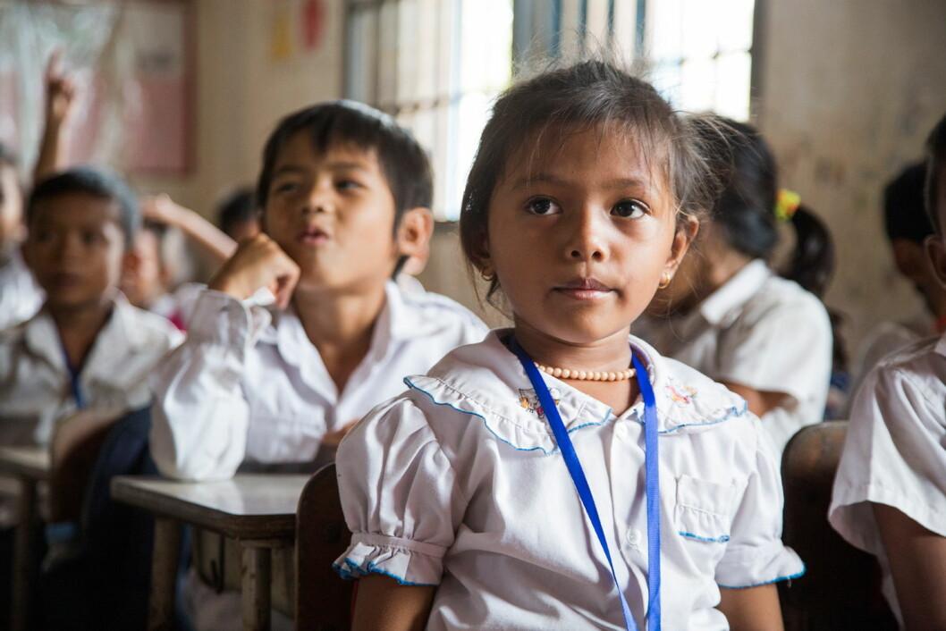 Ved å droppe romvask, gir gjester ved Nordic Choice Hotels uvurderlig hjelp til barn utsatt for trafficking i Kambodsja. (Foto: Nordic Choice Hotels)