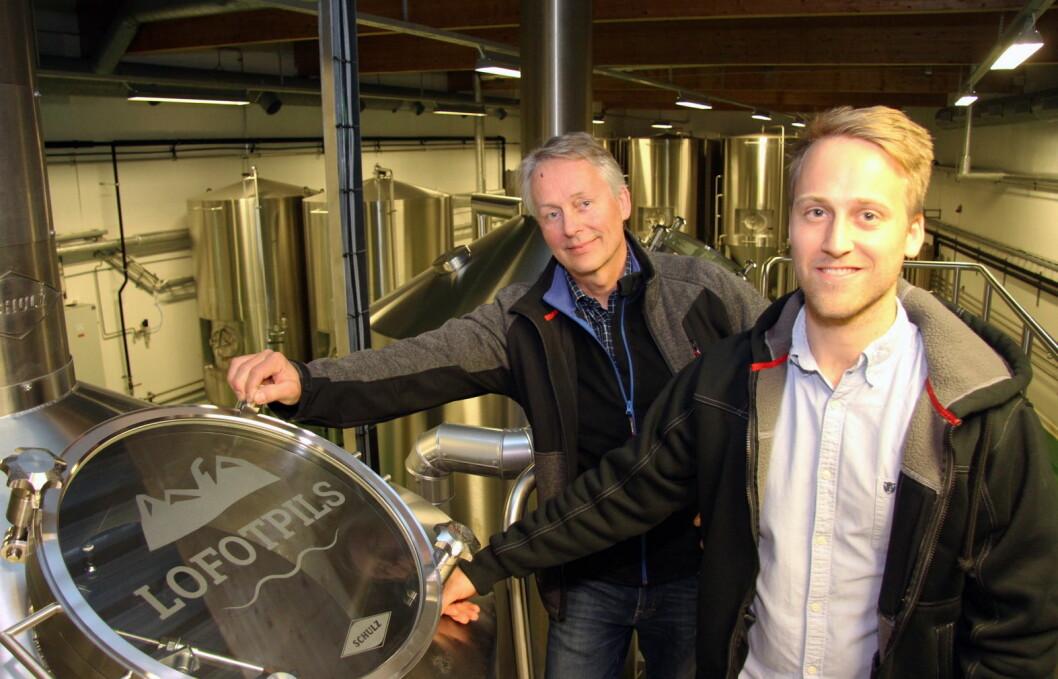 Lofotpils drives av Thorvardur Gunnlaugsson og hans sønn Andreas Thorvardarson. (Foto: Morten Holt)