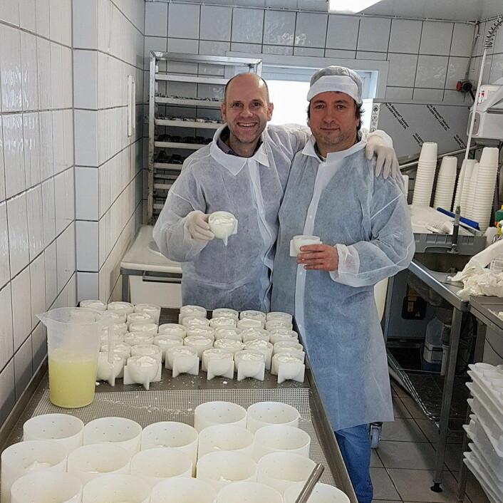 Bo Jensen sammen med Patrick Anglade fra Frankrike. (Foto: Privat)