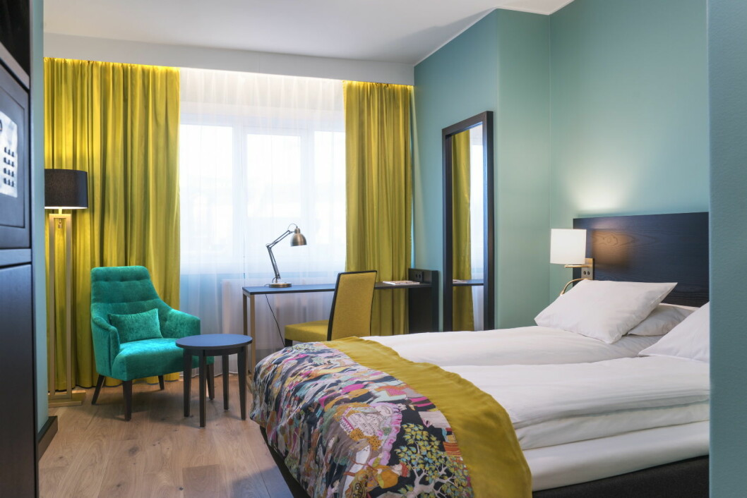 Thon Hotel Europa i Oslo har 160 nyoppussede gjesterom og suiter. (Foto: Thon Hotels)