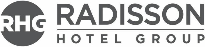 Den nye logoen til Radisson Hotel Group.
