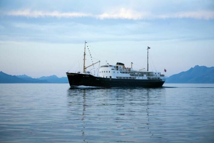 Gamle Salten seiler langs Arctic Haute Route. (Foto:Arctic Haute Route)
