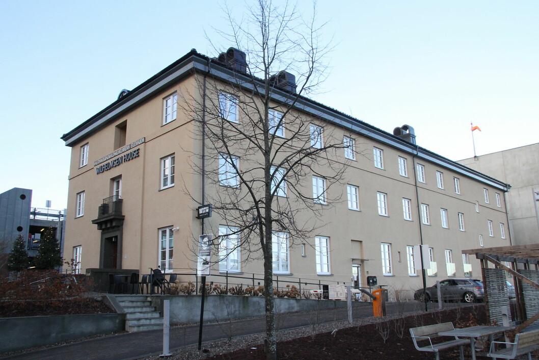 Wilhelmsen House i Tønsberg. (Foto: Morten Holt)