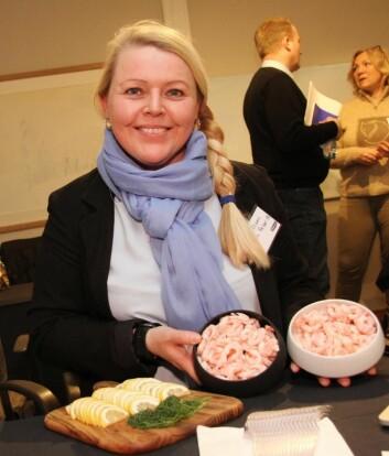 Karin Olsen driver familiebedriften Lyngen Reker i dag. (Foto: Morten Holt)