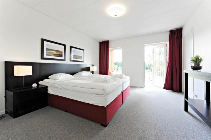 Fra ett av rommene på First Hotel Lindö. (Foto: First Hotels)