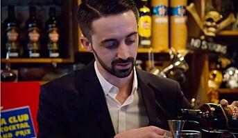 Til topps i bartenderkonkurranse