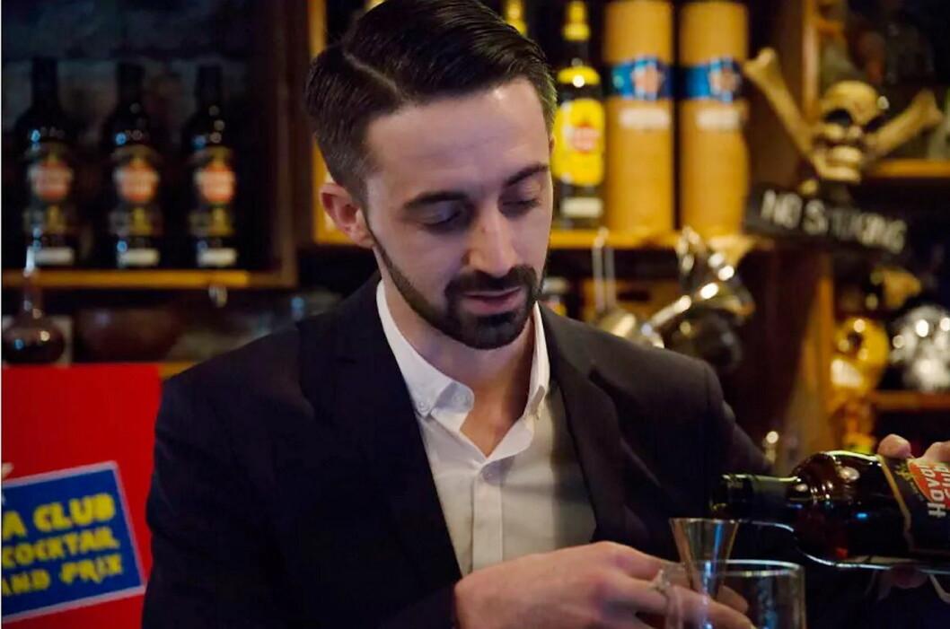 Vinneren av den norske finalen av Havana Club Cocktail Grand Prix 2018, Maxime Verrier.