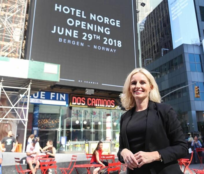 Hotelldirektør Lise Solheim Haukedal. (Foto: Scandic)
