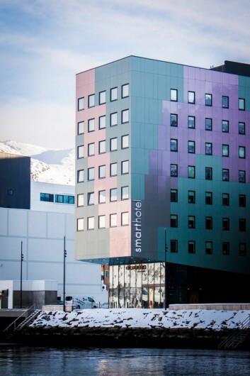 Smarthotel Hammerfest. (Foto: Håkon Berntsen)