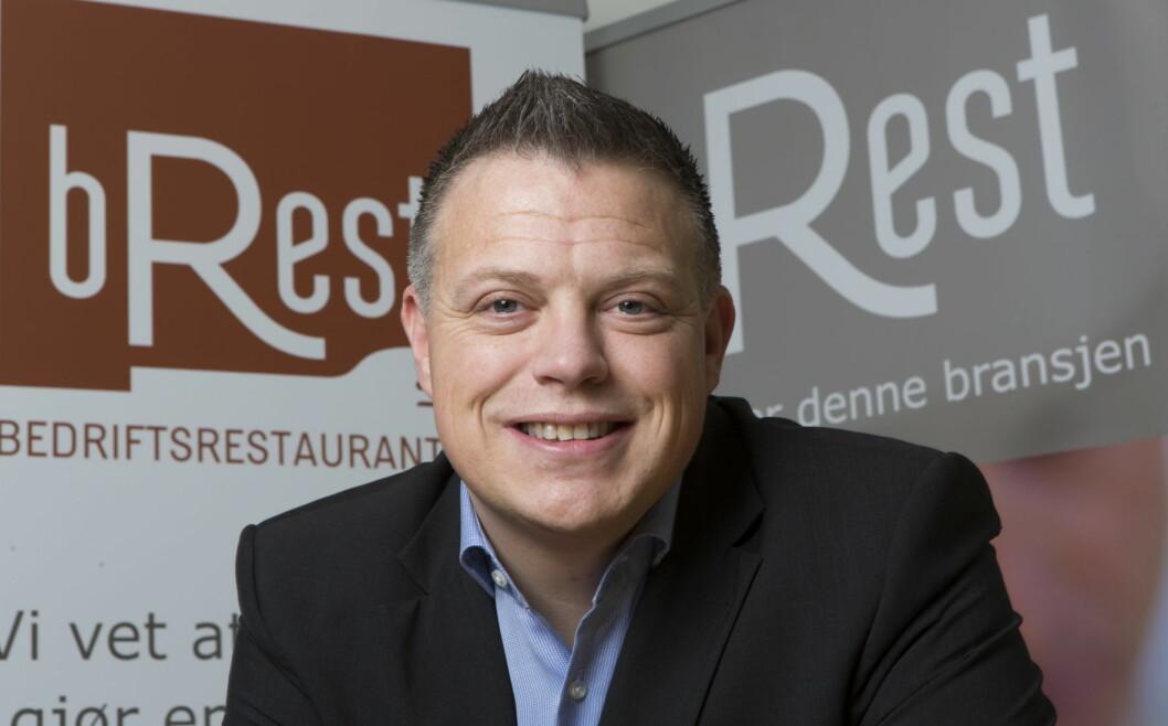 Marius Lindstrøm er ny salgs- og markedsdirektør i Brest. (Foto: Brest)