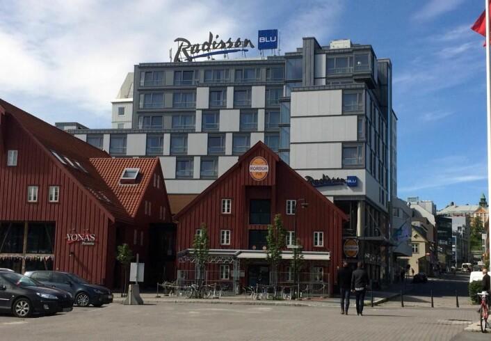 Flere av arrangementene foregår på Radisson Blu-hotellet i Tromsø. (Foto: Morten Holt)