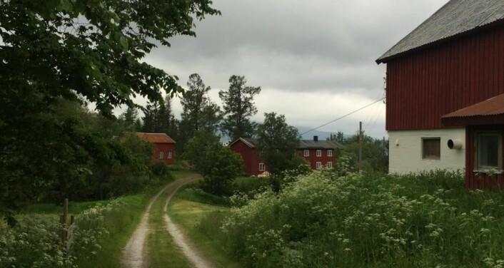 Utskarpen gård. (Foto: Privat)