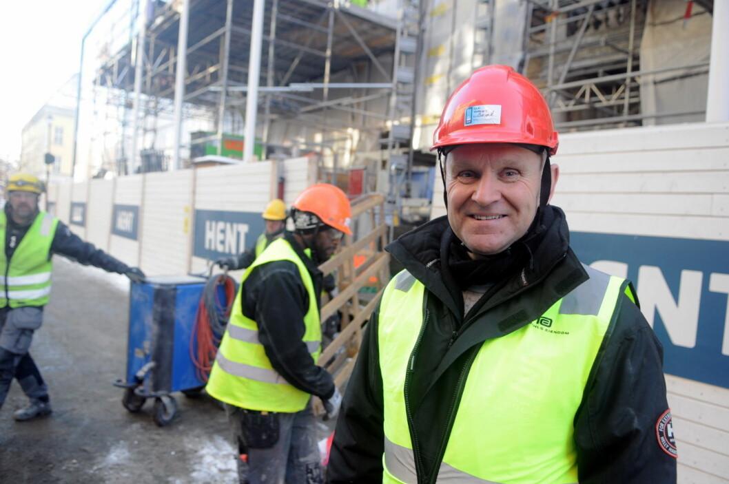 – Våre eiere har økonomiske muskler og lidenskap til å gjenskape hotellet, sier prosjektleder Arne Opsal i EC Dahl Eiendom.