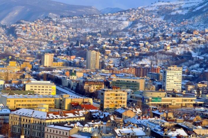 Også Sarajevo er et rimelig reisemål for nordmenn. (Foto: Colourbox.com)