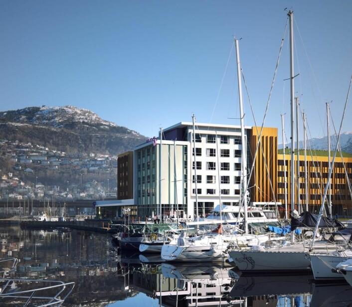 Moxy åpner i Bergen i 2020. (Foto: Moxy)